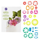 Wilton 2109-7987 28 Pc Gp Flowers Cut Out Set