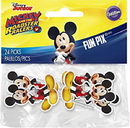 Wilton 2113-7108 Mickey Roadstr Fun Pix 24Ct
