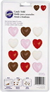 Wilton 2115-1712 Hearts Candy Mold