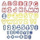 Wilton 2304-1054 50 Pc Abc & 123 Cc Set