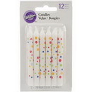 Wilton 2811-7499 Candle Sweet Dots Party 12Ct
