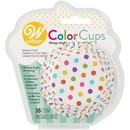 Wilton 415-0627 Clrcup Std Dots Rnbw 36Ct