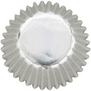 Wilton 415-1414 Cup Mini Silver Foil  36Ct