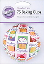 Wilton 415-422 Cupcke Heaven Std Bk Cups 75Ct