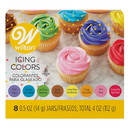 Wilton 601-5577 Icing Colors 8 Color Set