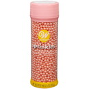 Wilton 710-1132 Sugar Pearls Pink