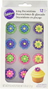 Wilton 710-1494 Multi Color Royal Icing Flower