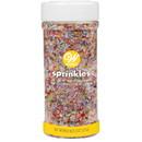 Wilton 710-991 Rainbow Sparkling Sugars 8 Oz