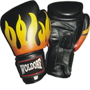 Woldorf USA w114 Flame Style Boxing Gloves
