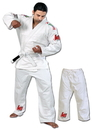Woldorf USA w182white Single Weave jiu jitsu student Uniform white