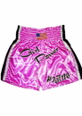 Woldorf USA w199 Power Girl Muay Thai shorts in Satin