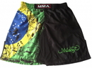 Woldorf USA w2015 MMA shorts in polyester Brazilian flag on side