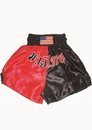 Woldorf USA w204 Muay Thai shorts in satin Black/RED color