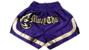 Woldorf USA w205-10 Muay Thai shorts special cutt letters purple