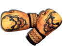 Woldorf USA w505-D Washable Boxing Gloves Orange Skull