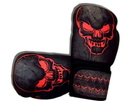 Woldorf USA w505-F Washable Boxing Gloves Black/Red Skull