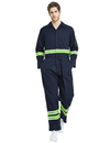 Custom Men's Classic High Visibility Coverall with Reflective Trim, Big-Tall