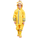 TOPTIE Unisex Baby and Kids Rainsuit, Rain Coverall Waterproof Jumpsuit