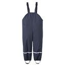 TOPTIE Boys and Girls Rain Pants Children's Bib Trousers One Piece PU Rain Wear