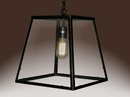 Warehouse of Tiffany LD4013 Minerva 1-light Black Edison Lamp with Bulb