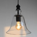 Warehouse of Tiffany LD4031 Marlowe 1-light Adjustable Cord 8-inch Clear Glass Edison Pendant with Bulb