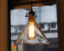 Warehouse of Tiffany LD4034 Annie 1-light Adjustable Height 9-inch Edison Pendant with Bulb