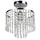 Warehouse of Tiffany RL1382-1 Seek 1-light Chrome Tiered Crystal Chandelier