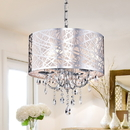 Warehouse of Tiffany RL5425 Abstract 4-light Crystal Chandelier