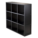 Winsome 20040 Shelf 3 x 3 Cube Wainscoting Panel