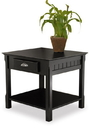 Winsome 20124 Wood Timber, End Table with one Drawer and Shelf