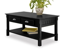 Winsome 20238 Wood Timer, Coffee Table, drawers and shelf