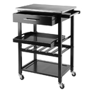 Winsome 20326 Anthony Kitchen Cart Stainless Steel