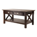 Winsome 40538 Xola Coffee Table with 2 Drawers, 37