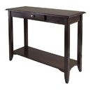 Winsome 40640 Nolan Console Table with Drawer