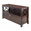 Winsome 40643 Xola TV Stand, Cappuccino Finish