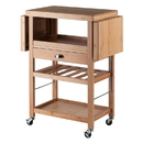 Winsome 80434 Barton Kitchen Cart