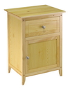 Winsome 81115 Wood End / Night Table, Color Finish: Natural