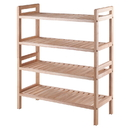 Winsome 81429 Mercury 2-Pc Stackable Shoe Rack Set