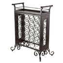 Winsome 87523 Silvano Wine Rack - Antique Bronze Finish