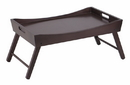 Winsome 92022 Benito Bed Tray with Curved Top, Foldable Legs