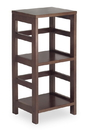 Winsome 92314 Wood Leo Shelf / Storage, Book, 2-Tier, Narrow