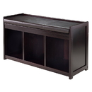 Winsome 92349 Addison 2-Pc Storage Bench with Cushion Seat