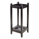 Winsome 92411 Jana Umbrella Stand w/Metal Tray, Espresso Finish