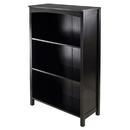 Winsome 92429 Terrace Storage Shelf 4-Tier in Espresso Finish