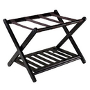 Winsome 92436 Reese Luggage Rack with shelf