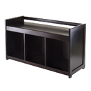 Winsome 92439 Addison Storage Bench with 3-section