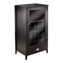 Winsome 92455 Bordeaux Wine Cabinet 25-Bottle Slot Modular