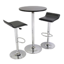 Winsome 93324 Spectrum 3pc Pub Table Set, 24