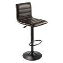Winsome 93443 Holly Air-lift Adjustable Stool, Dark Espresso Seat and Black Leg Finish