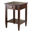 Winsome 94118 Richmond End Table, Antique Walnut Finish